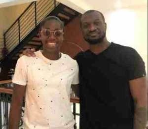 After Visiting Paul, Asisat Also Stops By At Peter Okoye